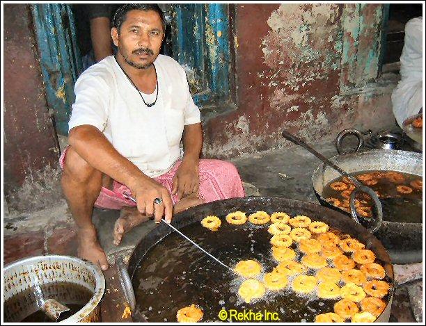 indian sweet jalebi