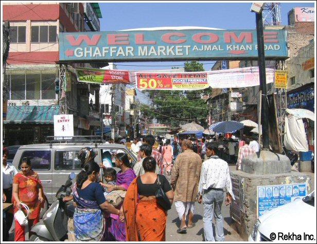 New Delhi Food Market