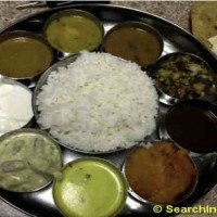 Indian Curry Thali Meals