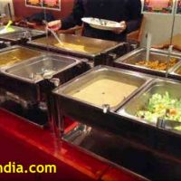 Nirvanam Tokyo Buffet Table