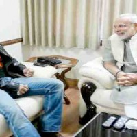 Narendra Modi & Salman Khan Meeting in January 2014